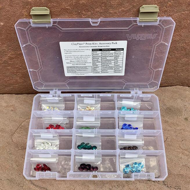 Starter Kit Gemstones Open