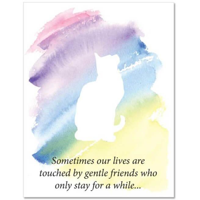 S101 Pet Sympathy Card