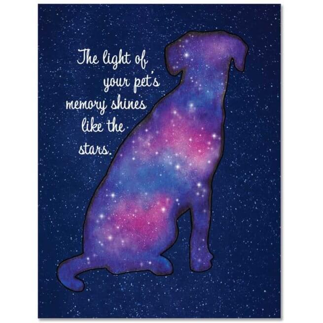 S207 Pet Sympathy Card