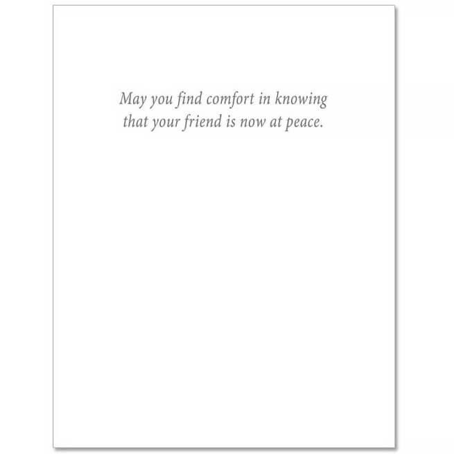 S209 Pet Sympathy Card