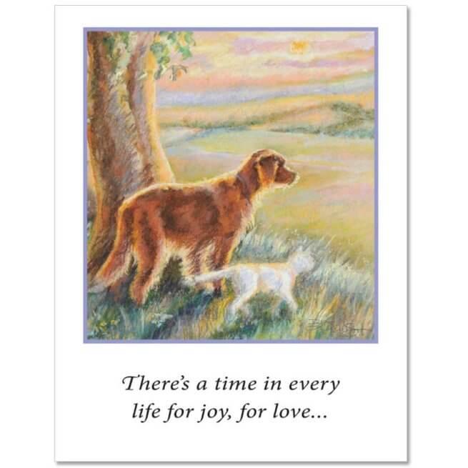 S24 Pet Sympathy Card