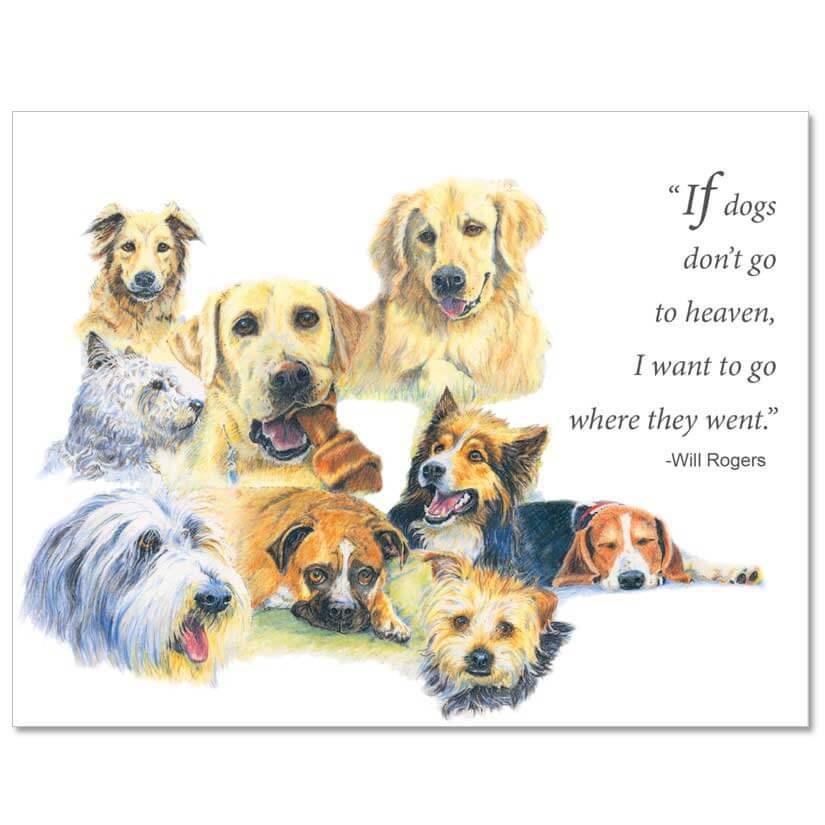 S73 Pet Sympathy Card