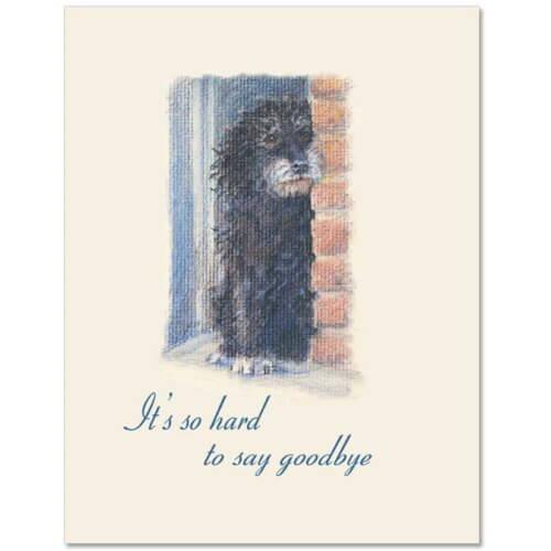 S86 Pet Sympathy Card