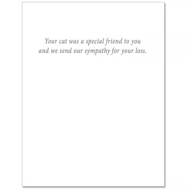 S90 Pet Sympathy Card