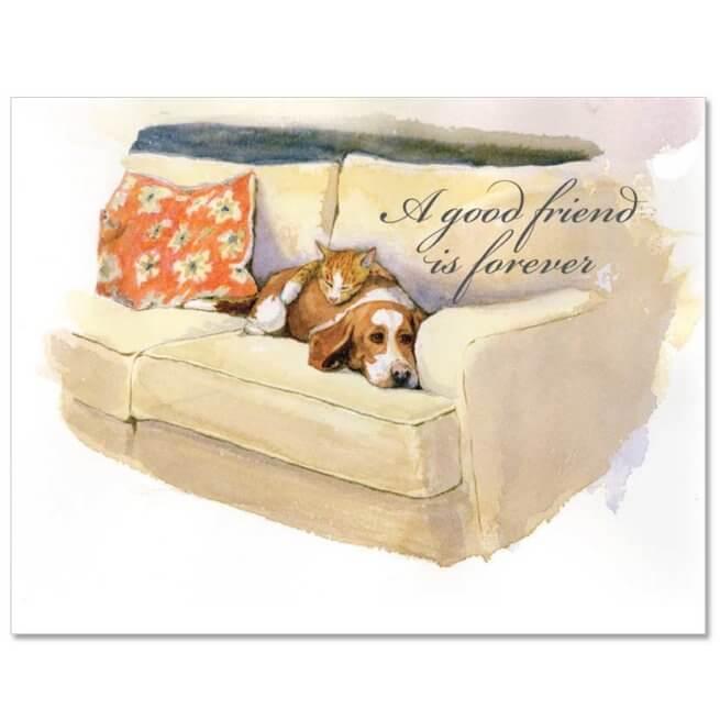 S93 Pet Sympathy Card