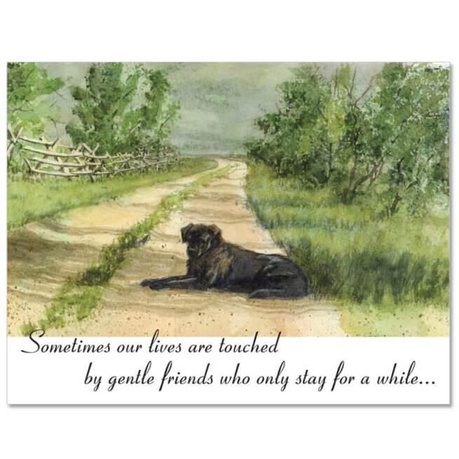 S95 Pet Sympathy Card