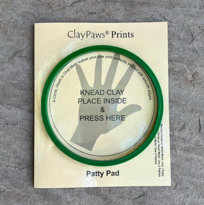 Large Green Circle Mold and Patty Pad