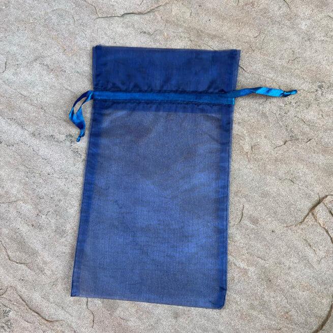 Navy Blue Keepsake Bag