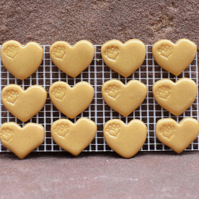 Premium Gold Hearts
