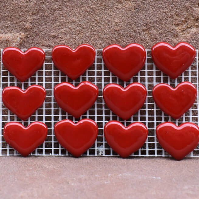 Premium Large Red Hearts