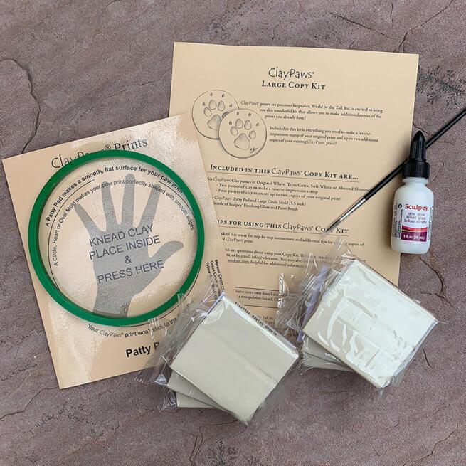 Large Almond Shimmer Copy Kit