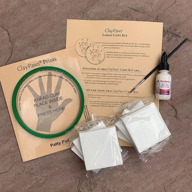 Large White Copy Kit