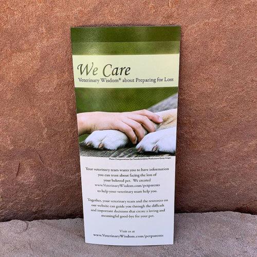 We Care Brochure