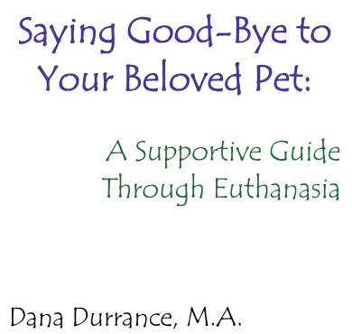 ebook saying goodbye to your beloved pet